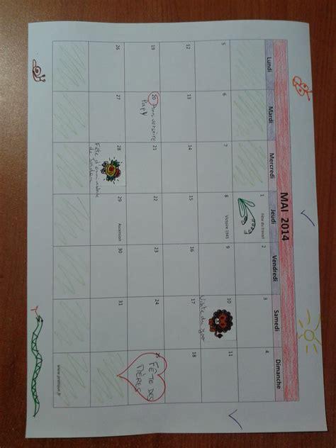 l activit 233 enfants du mercredi le calendrier fait maison pratique fr