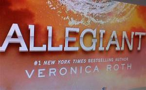 Allegiant book cover revealed | Hanksmedia.com