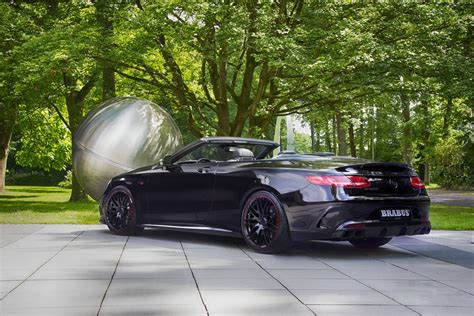 Amg S63 Cabriolet by Official 850hp Brabus Mercedes Amg S63 Cabriolet Gtspirit