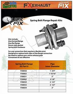Flange Bolt Weight Chart 1 15 16 Quot Semi Direct Fit Exhaust Spring Bolt Pipe Flange