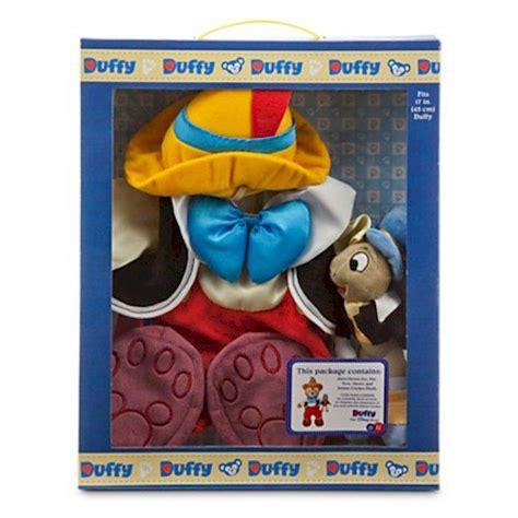 Duffy the Disney Bear Pinocchio Costume with Jiminy ...