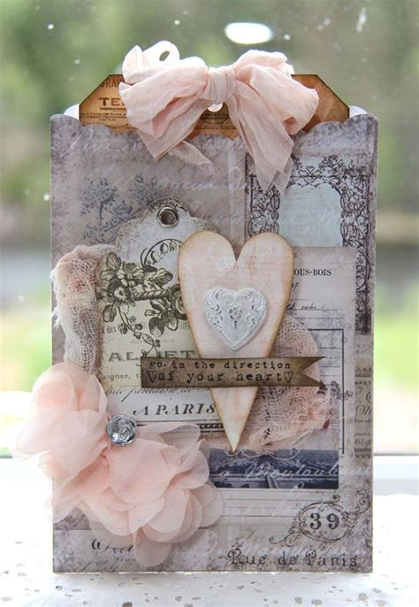 shabby chic gifts follow your heart treat bag st scrapbook expo