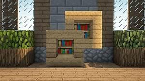 Minecraft, Bookshelf, And, Shelf, Design, Video