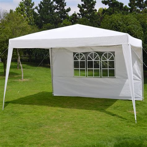 xez pop  folding gazebo camping canopy wcarry bag wedding party tent  side wall