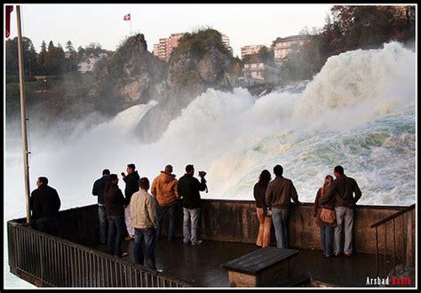 Boat Ride Rhine Falls Switzerland by Rhinefalls Rhine Falls Rheinfall Hotels