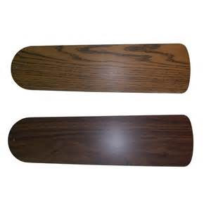 ceiling fan replacement blades harbor 52 in oak to walnut ceiling fan blade lowe