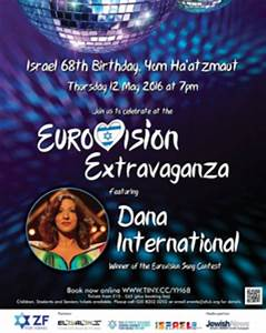 Dana International in London for Israel's 68th birthday ...