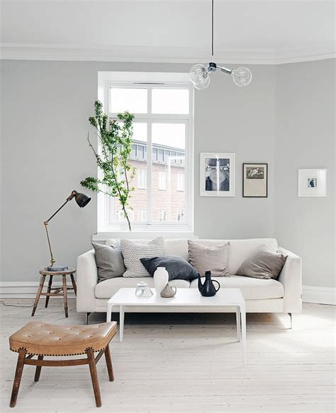 light grey home with a mix of and new via