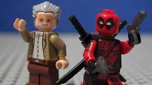 LEGO Custom Stan Lee & Deadpool Minifigures From eBay ...