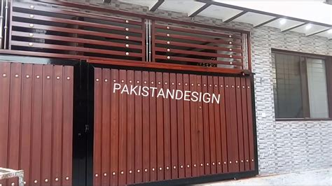 how to paint iron gate in simple wooden teak design my
