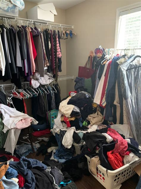 Guide to living room design ideas worth stealing. Master Closet - Before in 2020 | Master closet, Laundry ...
