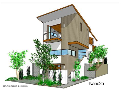 Modern, Affordable 3-story Residential Designs!