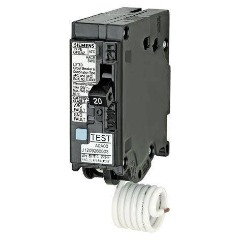 Siemens Qdf Amp Afci Gfci Dual Function Circuit