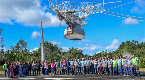 arecibo observatory update   earthquakes