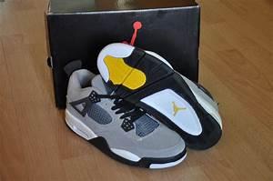 Jordan Chart Of Shoes Air Jordan 4 Suede Grey Yellow Price 73 85 Jordan