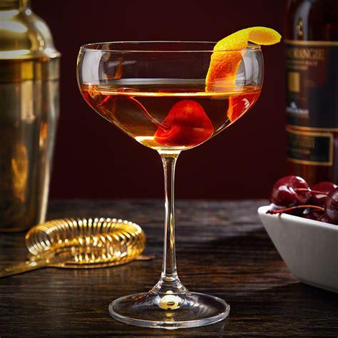 manhattan cocktail glass