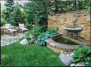 Great, Garden, Fountain, Ideas, -, Sunset
