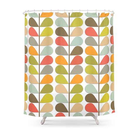 mid century modern shower curtain retro mid century modern pattern shower curtain waterproof