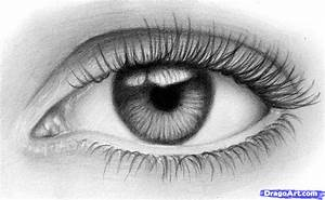 How to Sketch an Eye, Step by Step, Eyes, People, FREE ...