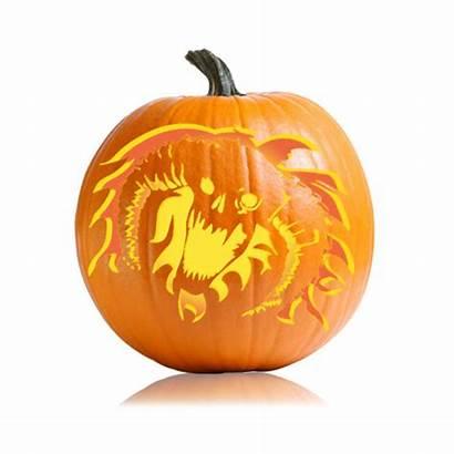 Pumpkin Stencil Stencils Balrog Lotr Challenging Patterns