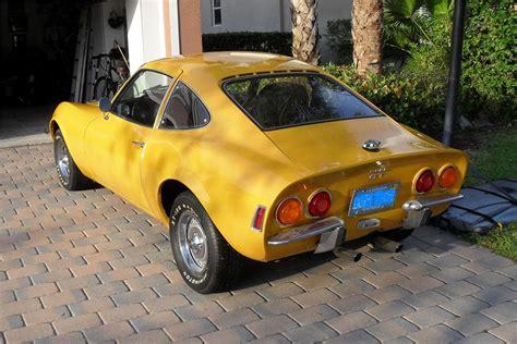 1972 Opel Gt 2 Door Coupe