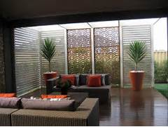 Privacy Screens For Bedrooms Uk by Warm Colour Scheme For The Outdoor Area Get Inspired By Photos Of Outdoor Li