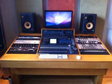 music studio desk workstation recording studio workstation pro construction forum be