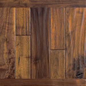 Walnut Hardwood Flooring - Prefinished Engineered Walnut