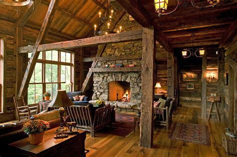 woman lake rustic living room minneapolis  big