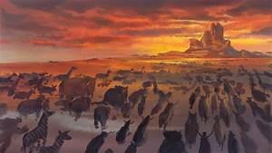 Tohad, On, Twitter, U0026quot, Traditional, Concept, Art, From, The, Lion, King, 1994, Walt, Disney, Pictures