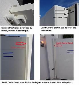 Comment Poser Un Portail : portail aluminium battant lame large horizontale 220 urban ~ Premium-room.com Idées de Décoration