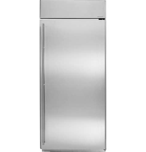 ge monogram  built   refrigerator zirsnxrh ge appliances
