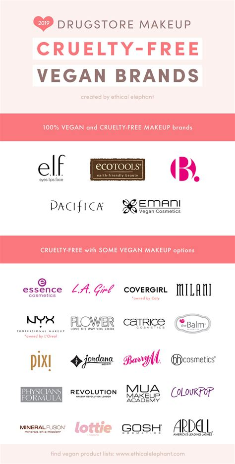 cruelty vegan makeup affordable drugstore brands