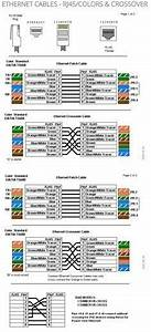 Common Network Cable Rj45 Wiring Diagram : ethernet cables rj45 colors crossover electronics ~ A.2002-acura-tl-radio.info Haus und Dekorationen