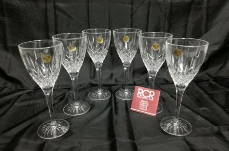 bicchieri cristallo prezzi bicchieri in cristallo da acqua rcr vendita
