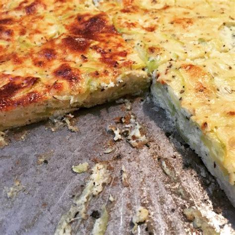 tarte de courgettes sans p 226 te cuisine de m 233 m 233