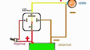 Horn Relay Simple Wiring