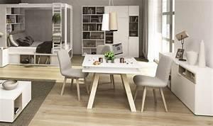 Table carree salle a manger design table ronde avec