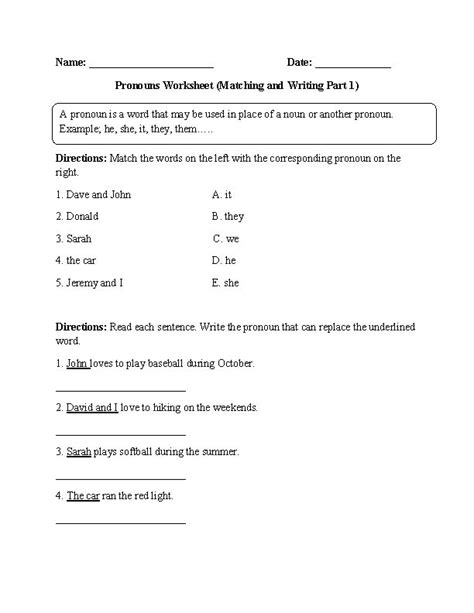 1000+ Ideas About Pronoun Worksheets On Pinterest  Pronoun Activities, Teaching Pronouns And
