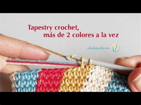 como tejer tapestry crochet tutoriales en espanol tig