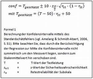 T Wert Berechnen : psychometrica institut f r psychologische diagnostik ~ Themetempest.com Abrechnung