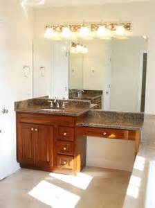 Bathroom Vanities With Makeup Area by Verseman Development Cary Il Home Builder