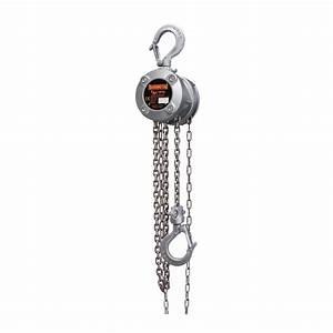 Harrington Cx Mini Hand Chain Hoist Mazzella Companies