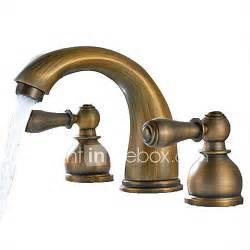 antique brass finish widespread bathroom sink faucet 3205826 2016 87 99