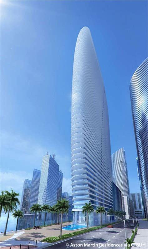 aston martin residences  skyscraper center