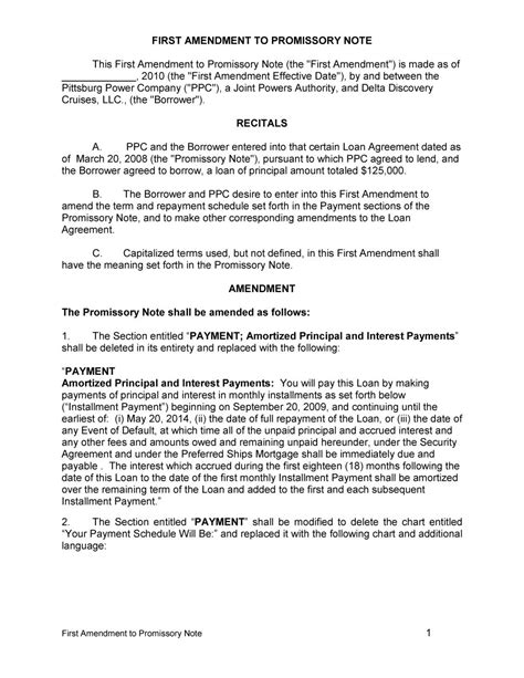 iou contract form 45 free promissory note templates forms word pdf