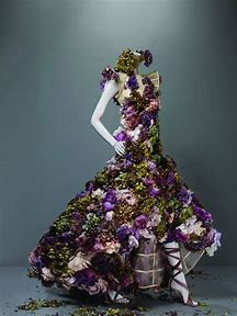 Alexander McQueen Flower Dress