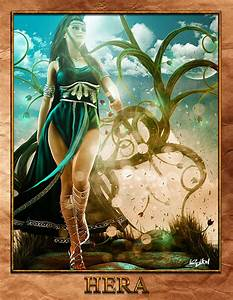 Hera (Juno) - Greek Goddess - Queen of the Gods. | Greek ...