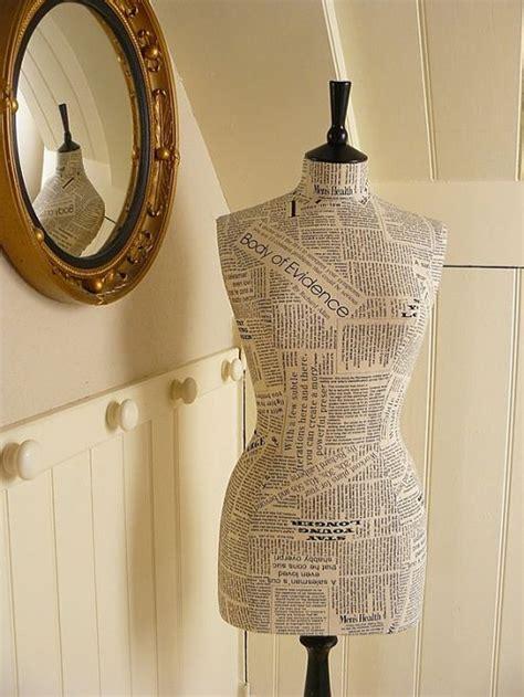 Newsprint Print Mannequin Kimberlyloc