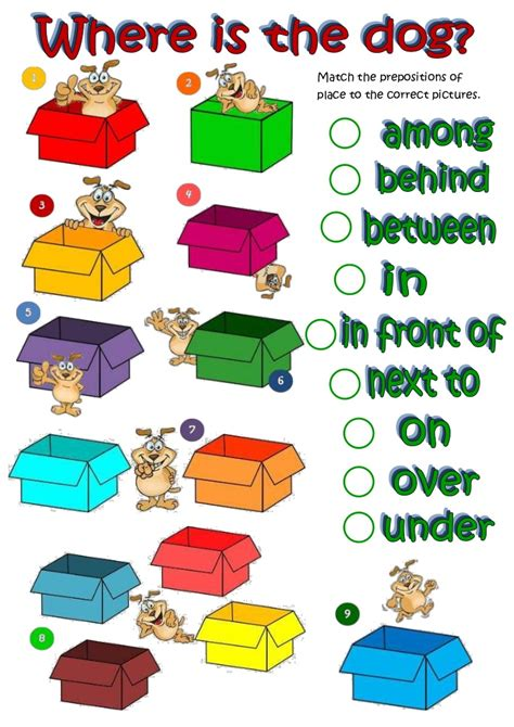 Prepositions Of Place 11